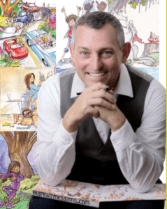 Mark Wayne Adams, Award-Winning Children's Book Illustrator