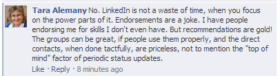 Is LinkedIn a waste of time?
