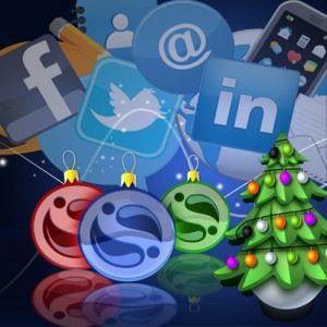 Aleweb Social Marketing - Social Media Christmas Tree